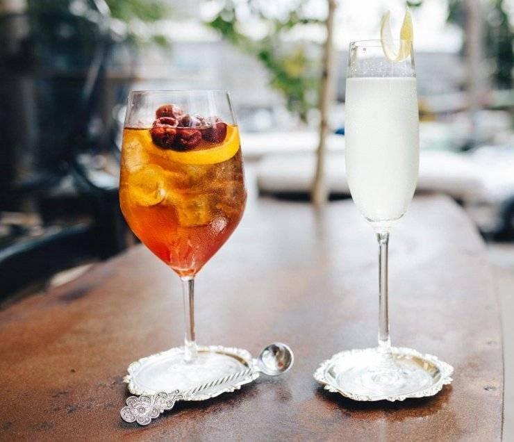 Вкусные рецепты коктейлей с шампанским