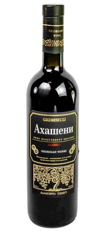 Вино ахашени: описание аромата и вкус