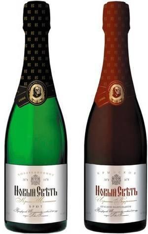 Дом шампанских вин «новый свет». какое вино выбрать?