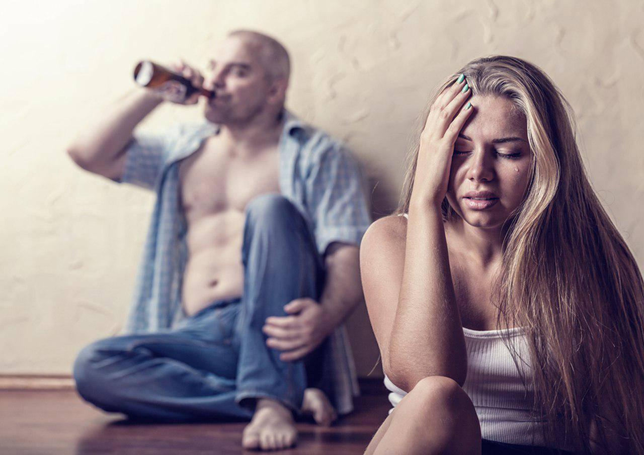 Что делать женщине, если ее муж-алкоголик