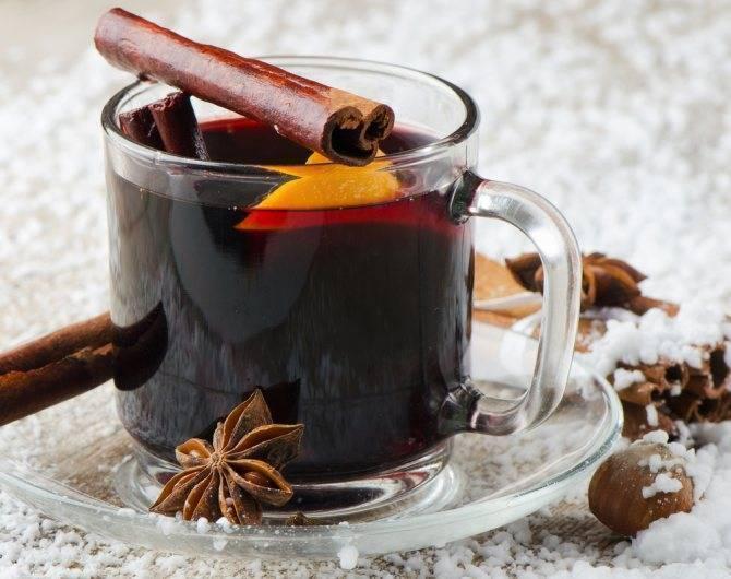 Рецепт глинтвейна из вина в домашних условиях