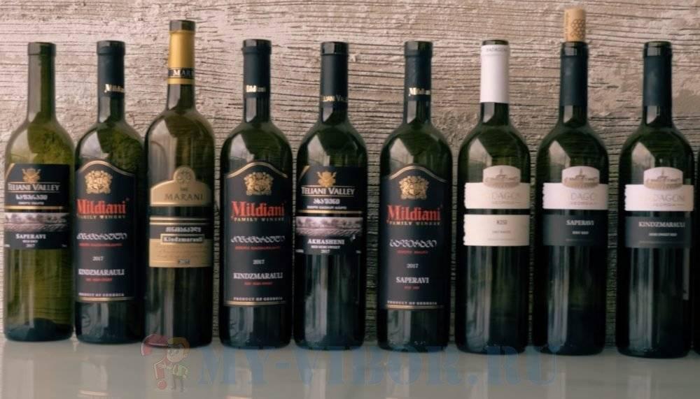 Обзор лучших грузинских вин – сухое, полусладкое