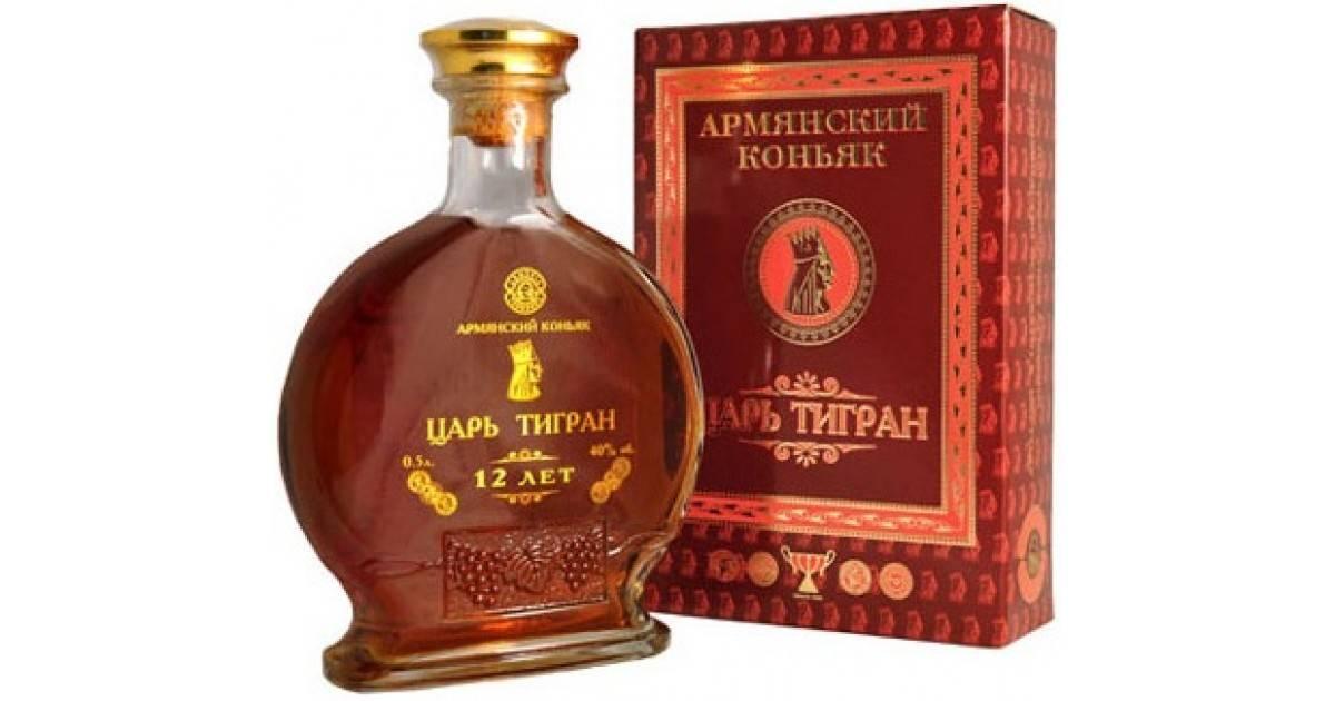 Коньяк «царь тигран» 3-летний, 0.7 л — great valley, «tsar tigran» 3 years, 700 мл