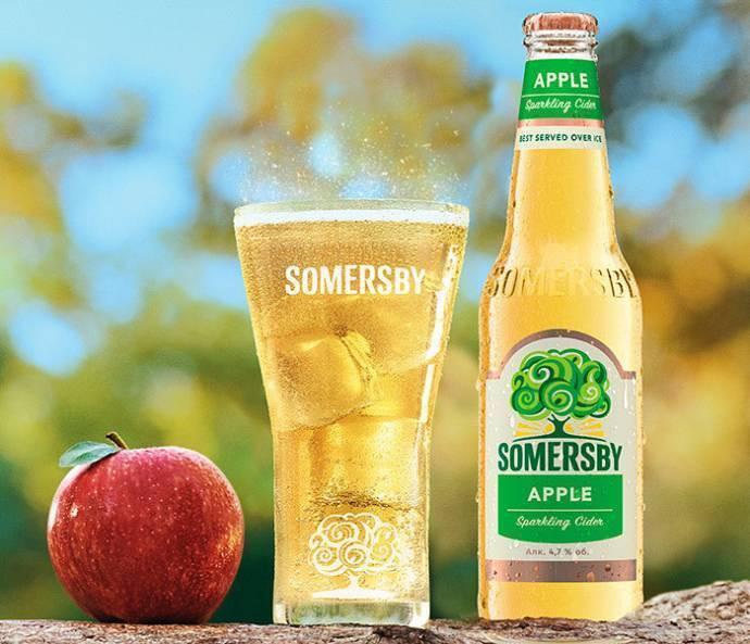 Сидр соммерсби — легкий освежающий напиток из натурального сока