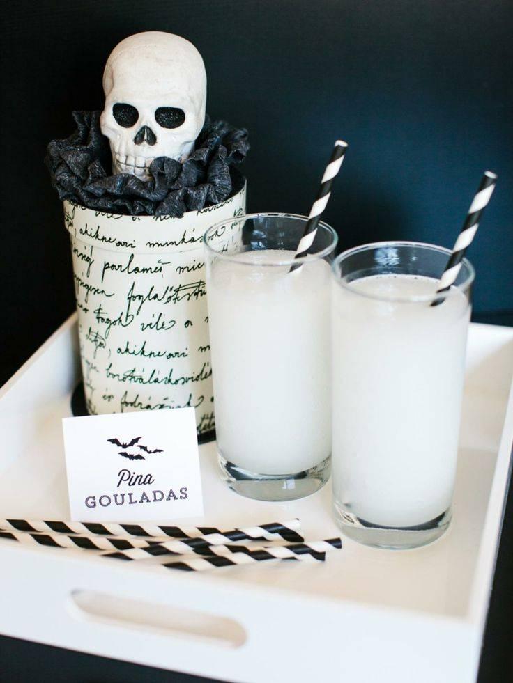 Коктейли на хэллоуин для детей рецепты. зловещие безалкогольные коктейли на хэллоуин