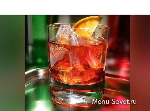 Коктейль негрони (negroni) / typobar.ru