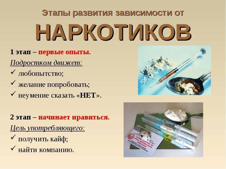 Основные причины возникновения наркомании, вызывающие зависимость