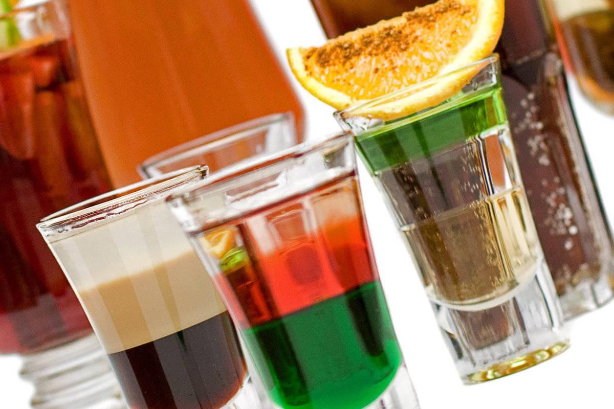 Что такое шоты – рецепты алкогольных коктейлей