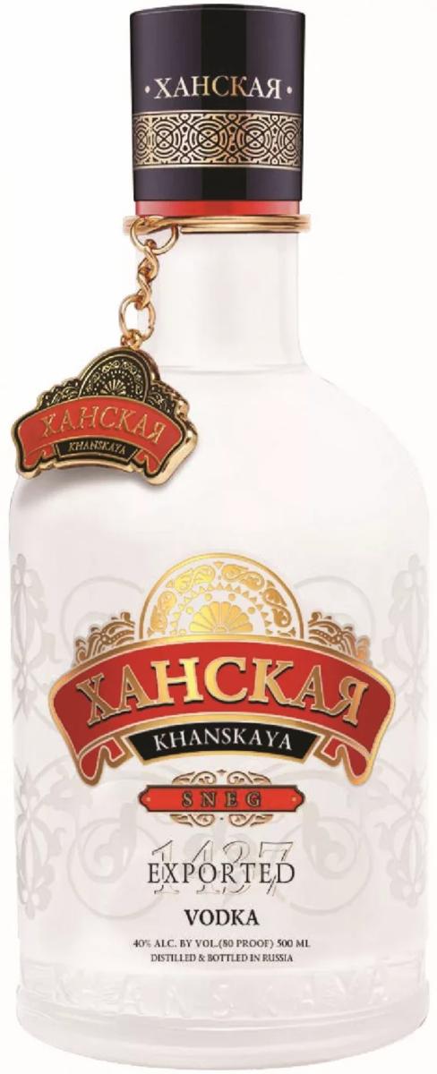 Водка ханская: описание, история, ассортимент марки