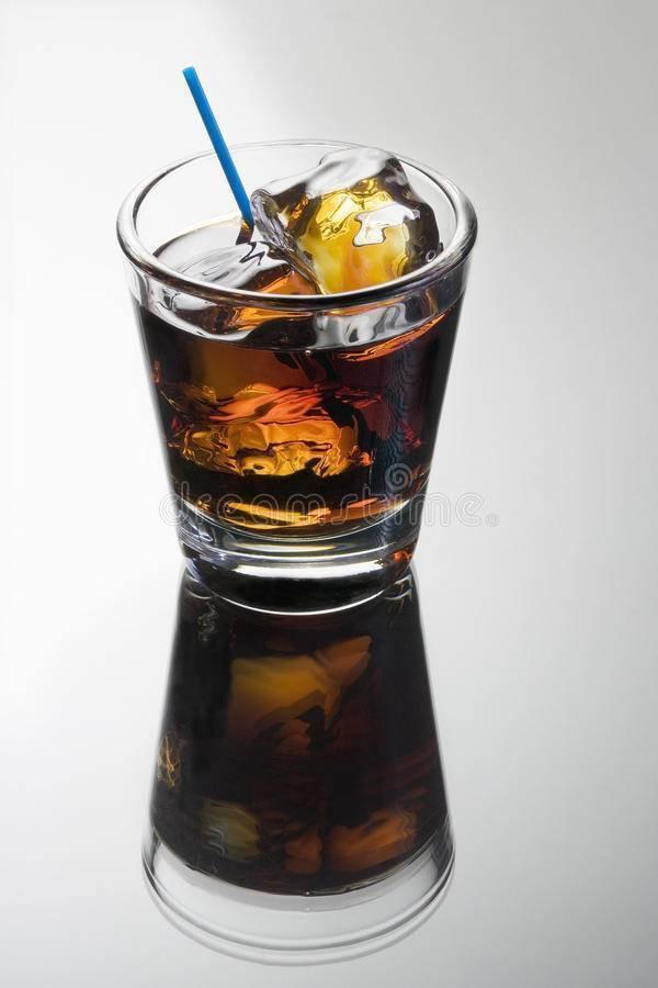 Состав и рецепт черного русского коктейля