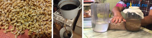 Брага из ячменя – рецепты приготовления
