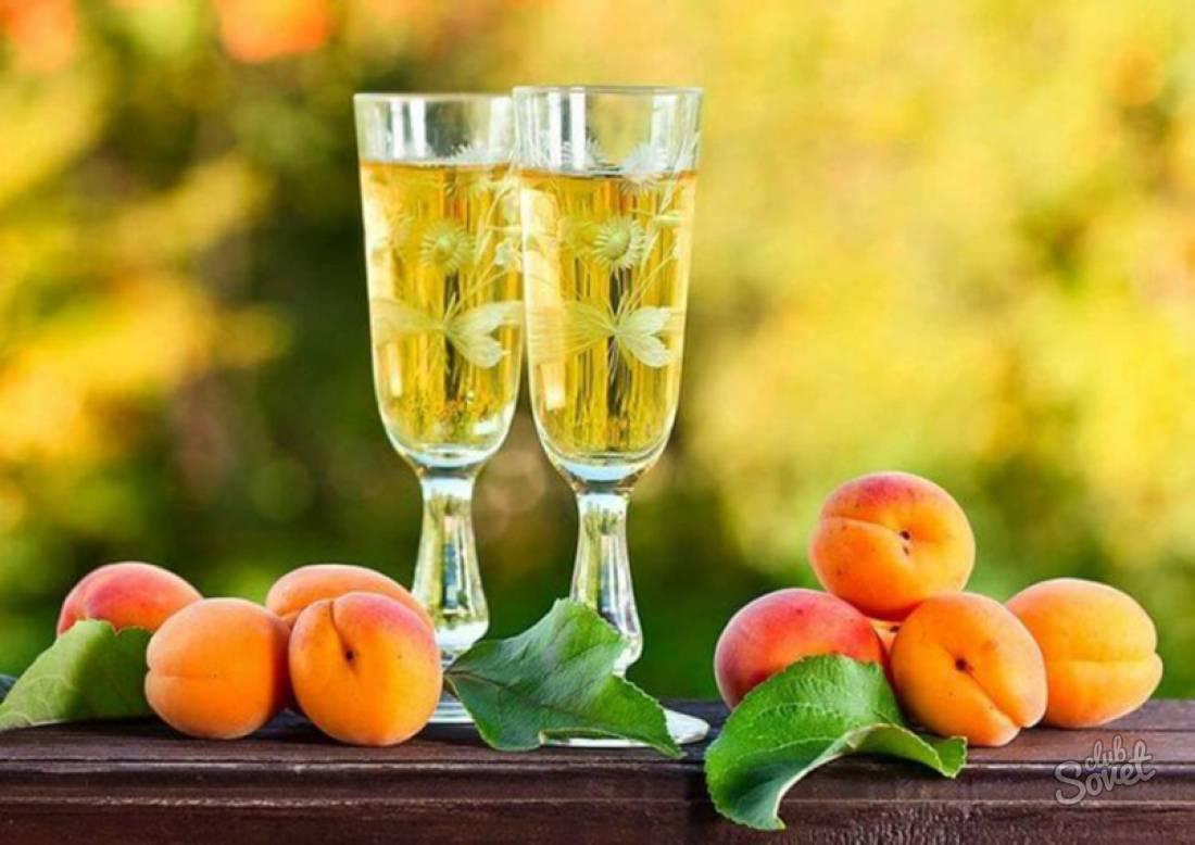 Вино из абрикосов - вкусные рецепты в домашних условиях без сахара, из компота, сока, варенья