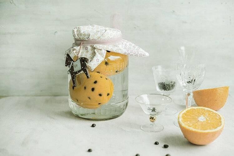 Апельсиновая настойка на самогоне - вкусные блюда