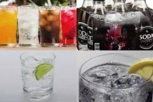 Вода содовая – чем отличается от газированной и чем можно заменить; использование для создания коктейлей