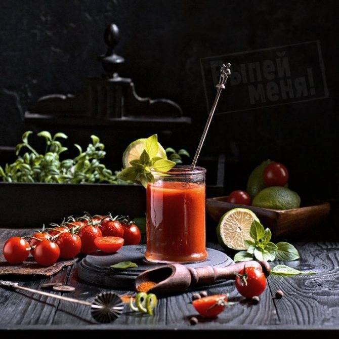 """Коктейль """"кровавая мэри"""" – кулинарный рецепт"""