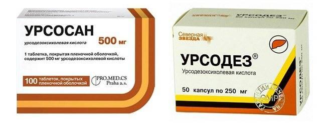 Можно ли одновременно принимать препараты Урсосан и Аллохол