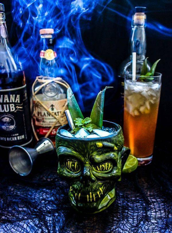 Рецепт коктейля зомби (zombie cocktail)
