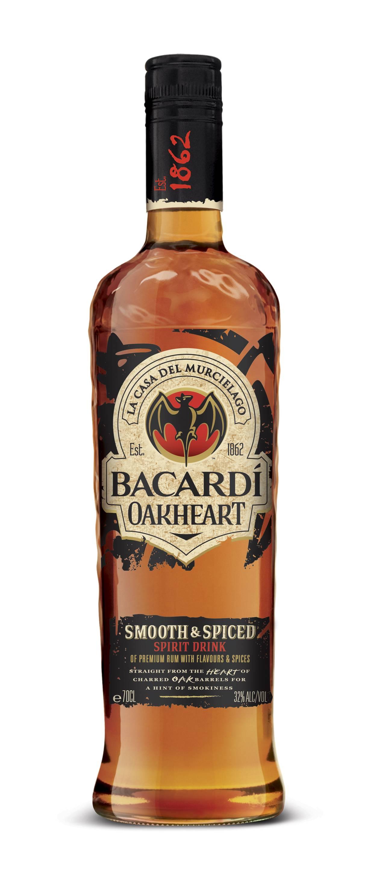 Bacardi oakheart — ромовое сердце дуба