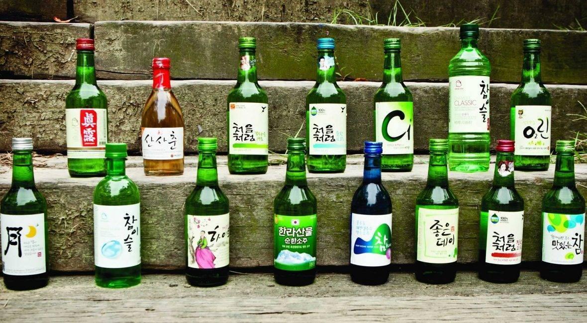 Соджу корейская водка сколько градусов — история алкоголя