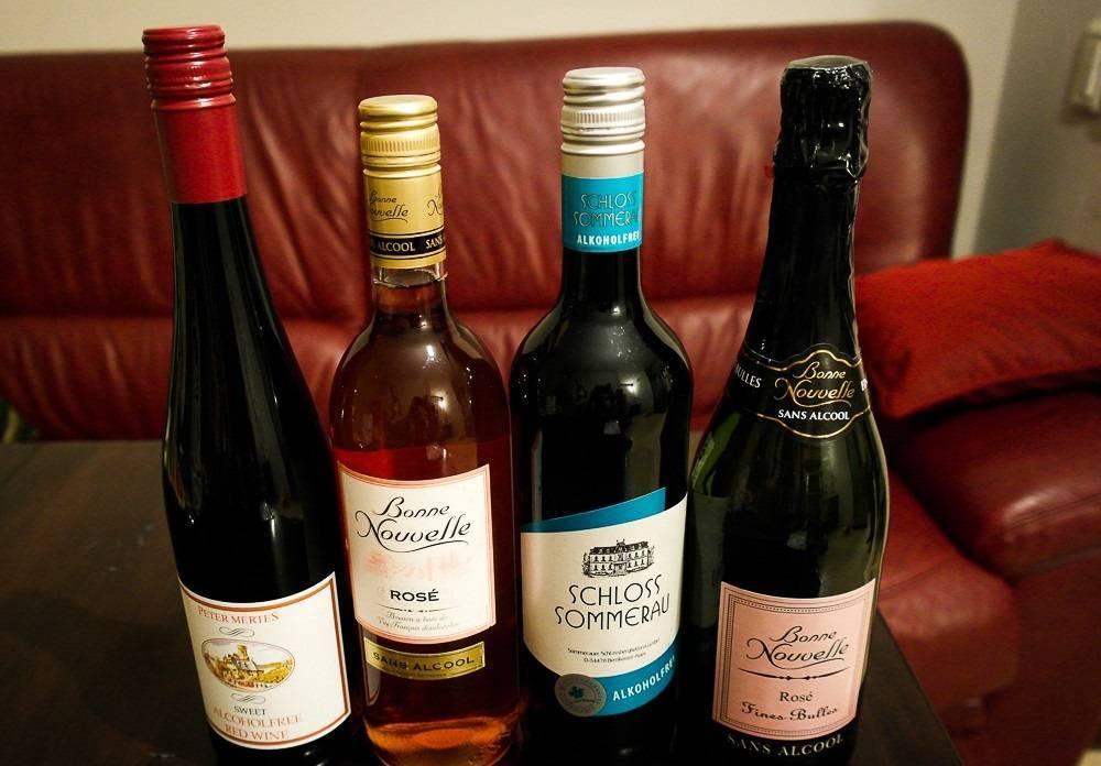 Безалкогольное вино: как делают красный и белый напиток, марки сухого вина, польза и вред, состав
