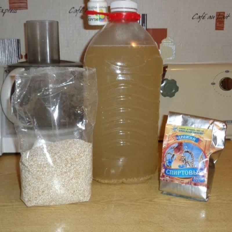 Сахарная брага на сухих дрожжах: рецепт с видео