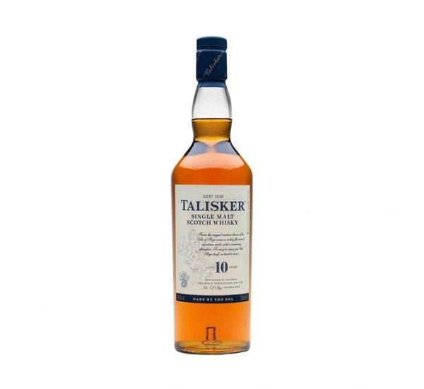 Talisker single malt scotch 10-years-old whisky