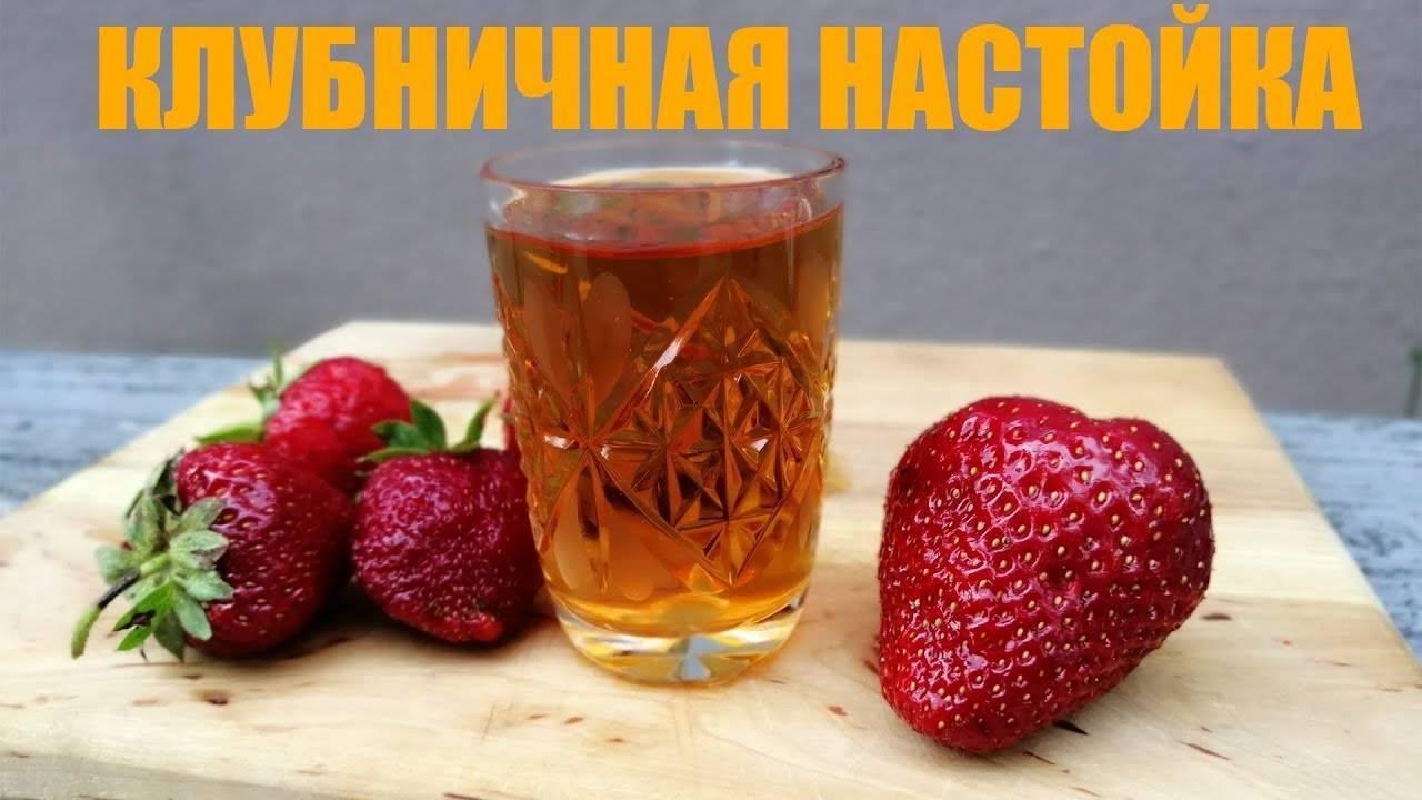 Клубничная настойка – 8 оригинальных, но простых рецептов