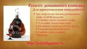 Рецепты домашнего бренди из самогона