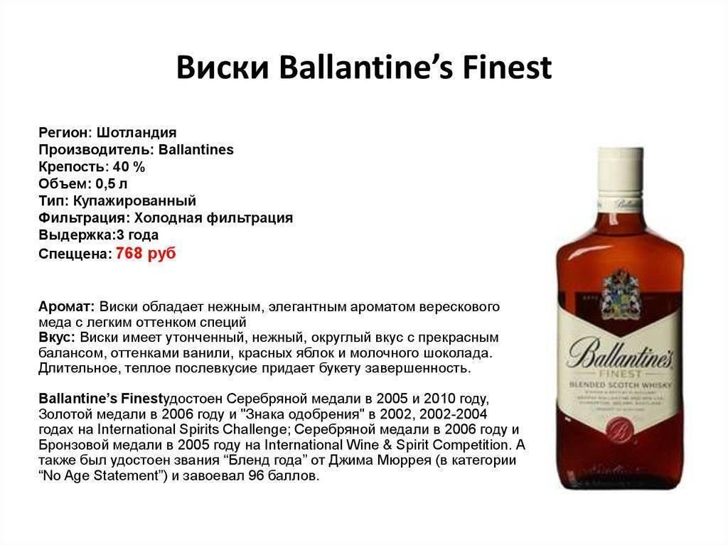 Виски ballantine's (баллантайнс): особенности вкуса и обзор линейки скотча | inshaker | яндекс дзен
