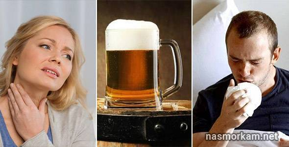 Горячее пиво при кашле и простуде: рецепты. можно ли? лечение