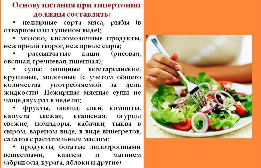 Список продуктов, которые снижают и повышают артериальное давление, советы как понижать давление