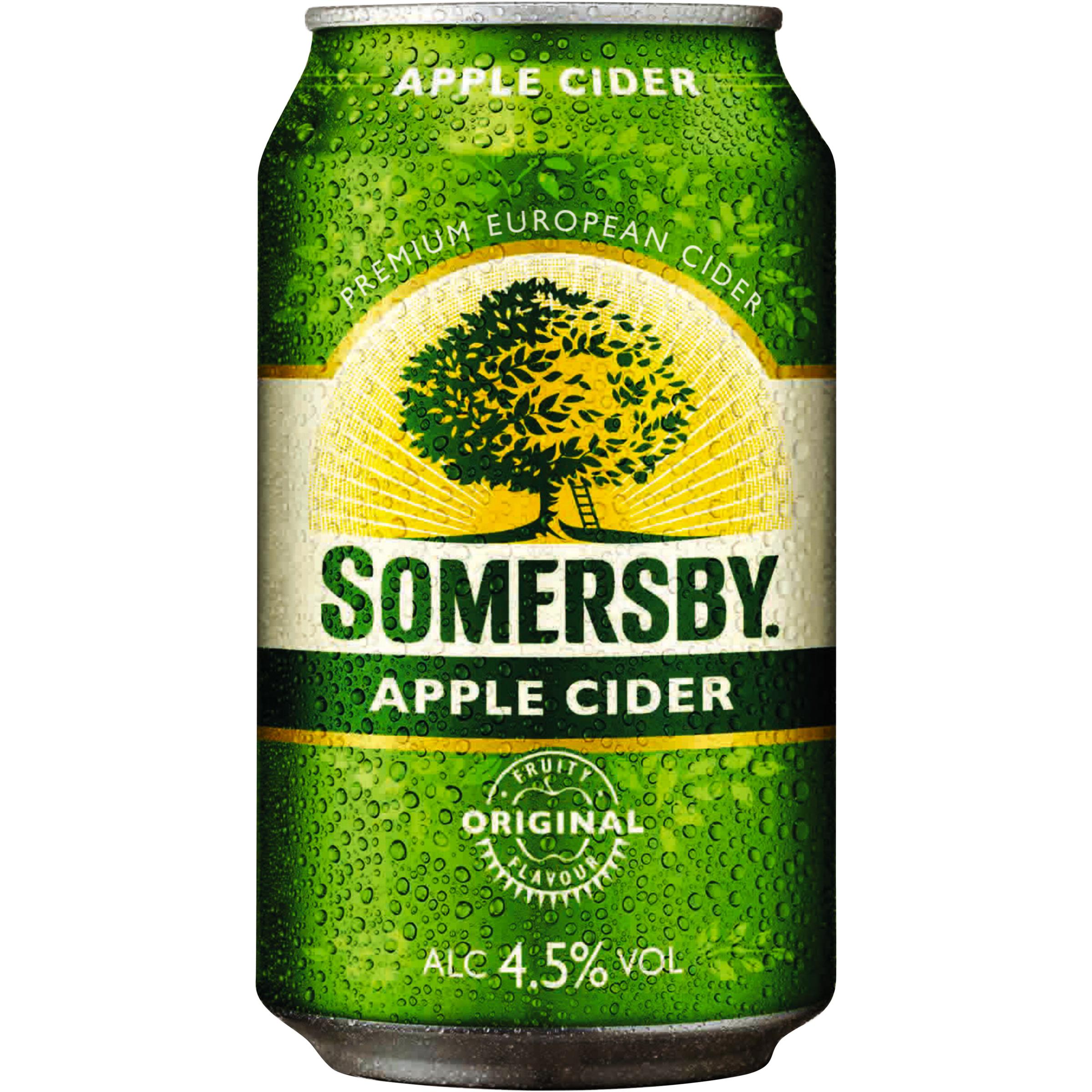 Сидр сомерсби (somersby): из чего делают, обзор вкуса