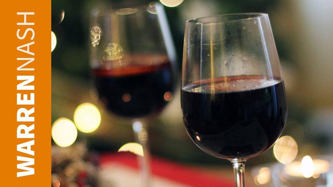 Прекрасный рецепт глинтвейна из красного вина