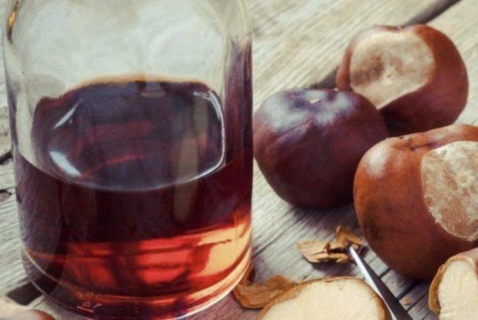 Настойка из каштана для суставов: рецепт настойки на спирту для лечения | ревматолог