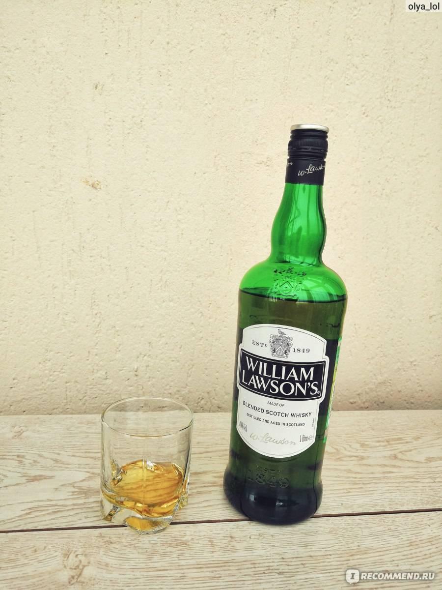 William lawson's (вильям лоусонс): подробности об элитном виски и учимся отличать подделку от оригинала