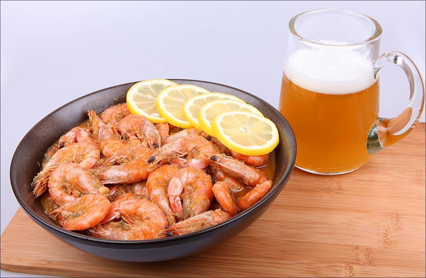 3 рецепта креветок к пиву