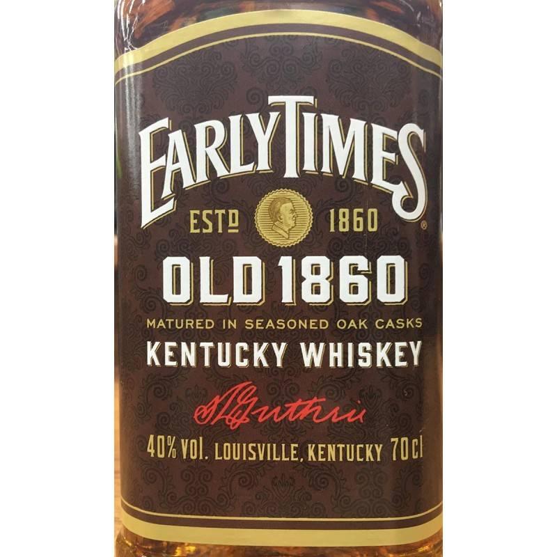 """""""early times"""": виски, отзывы о котором вдохновляют"""