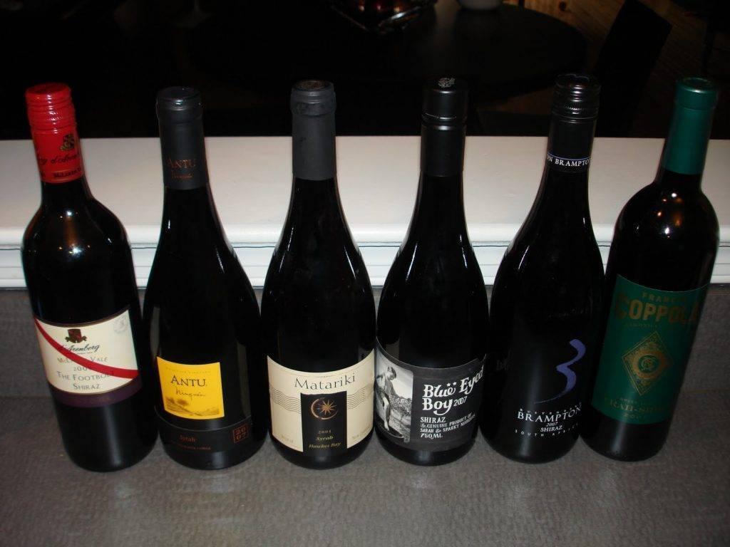 Виноград шираз и вино из него