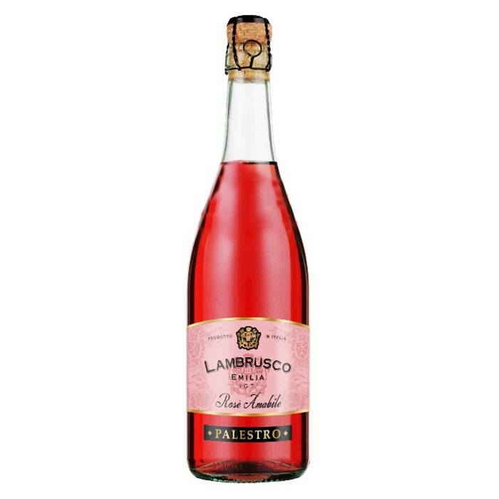 Lambrusco (ламбруско) — бюджетное шампанское родом из италии