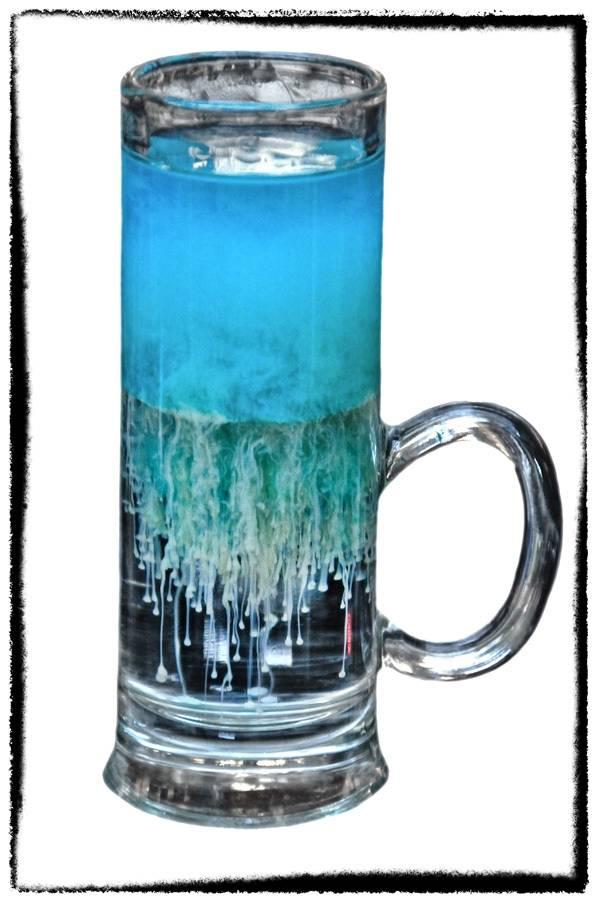 Как приготовить коктейль медуза