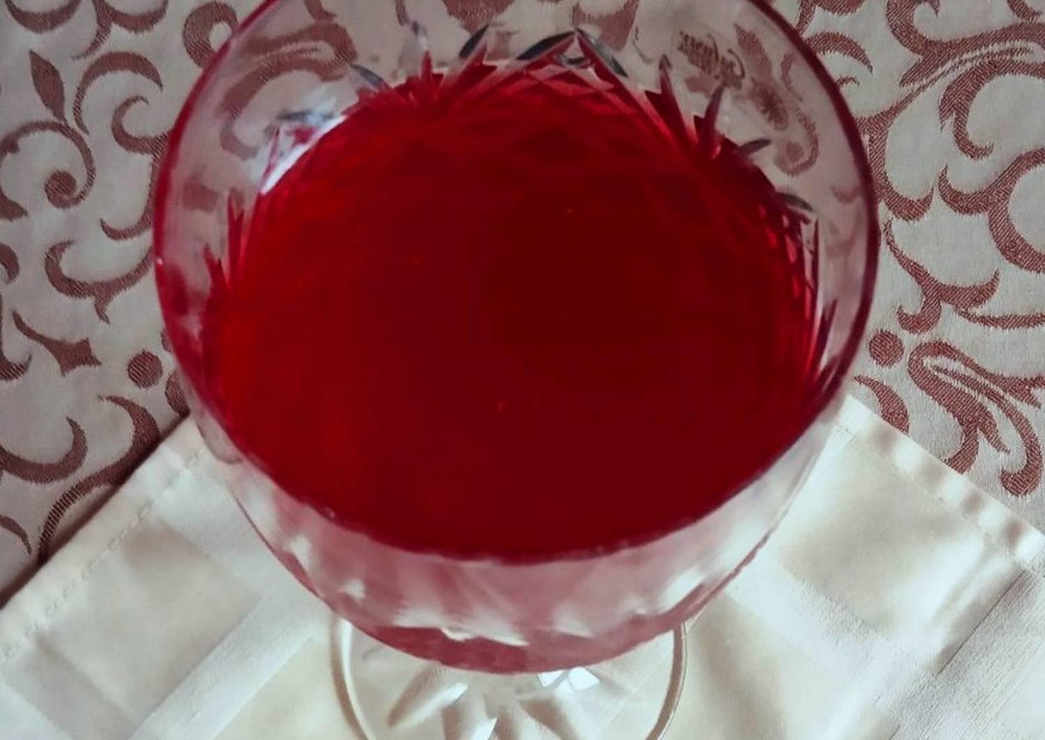 Малиновое вино в домашних условиях