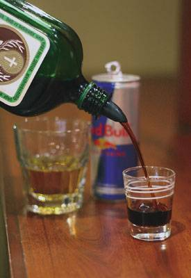 Последствия от коктейля водка с энергетиком