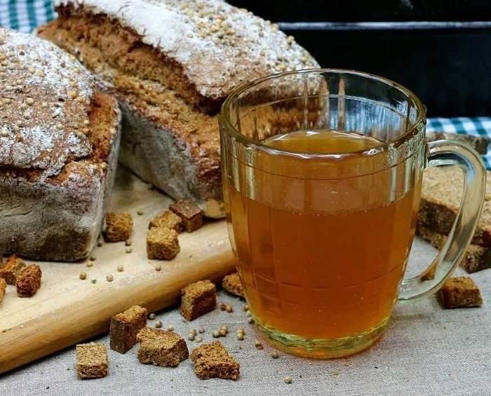 Квас хлебный домашний – кулинарный рецепт