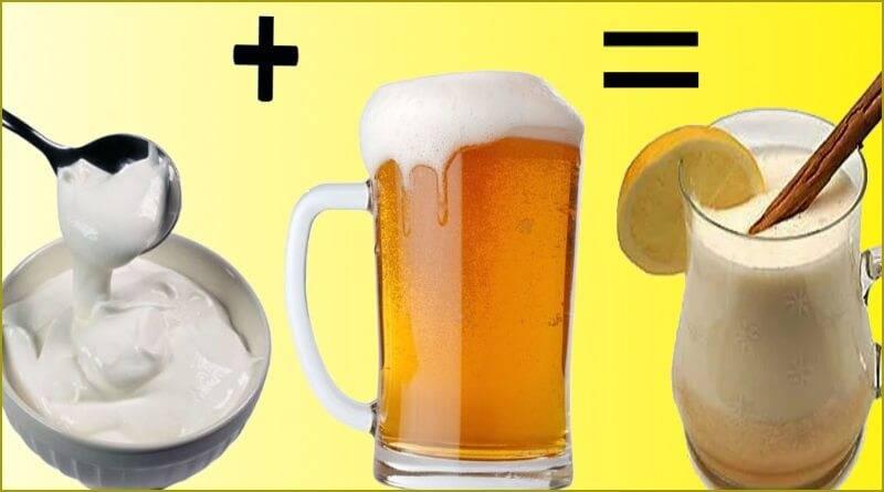 Пиво со сметаной: рецепты для повышения потенции