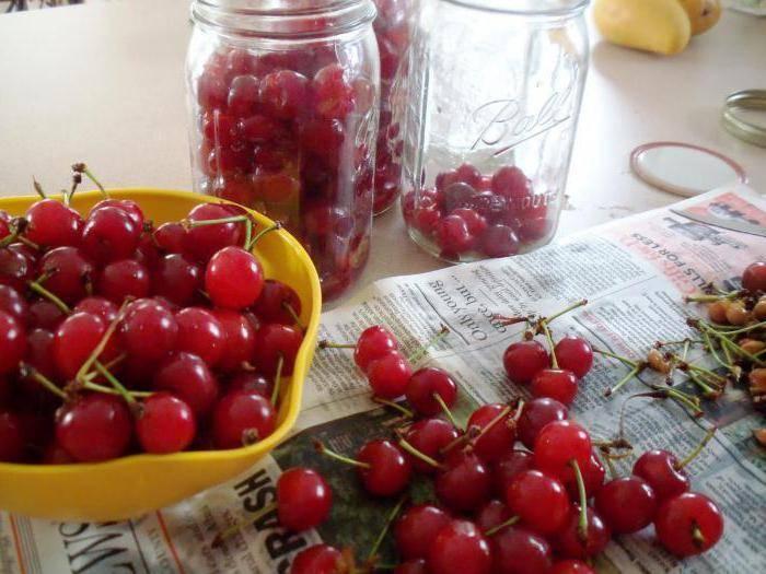 Вишня на самогоне рецепт приготовления
