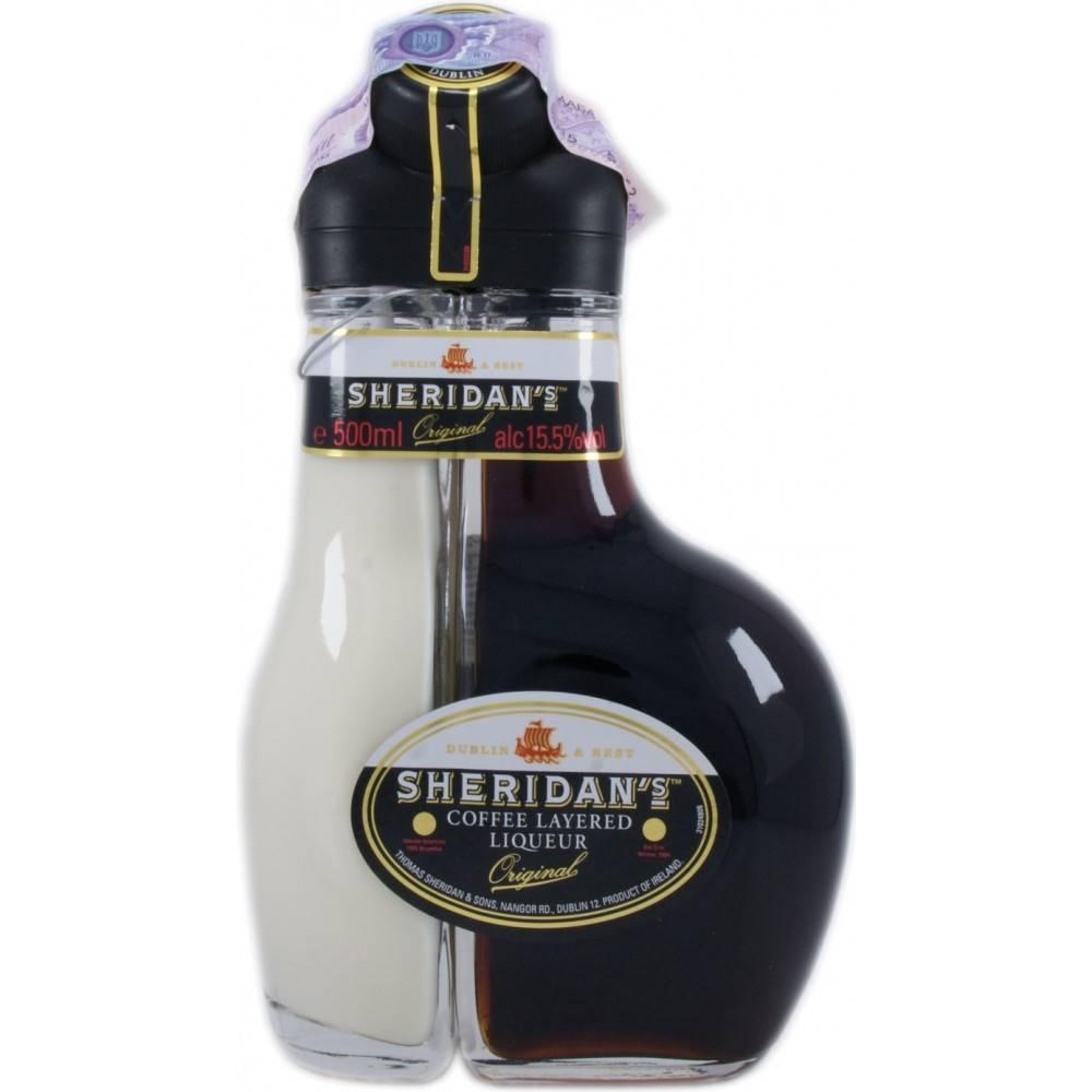 Ликер шеридан: двухцветный кофейно-сливочный напиток и коктейли с ним, как пить коктейли с ликером