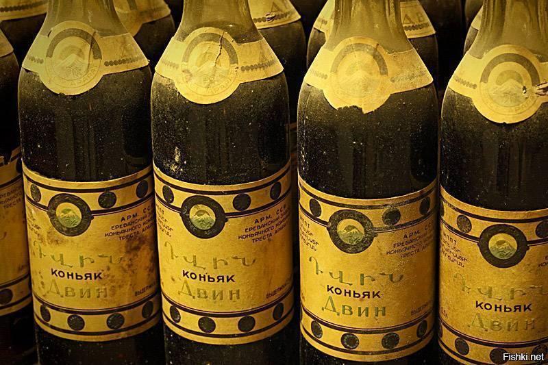 Любимый армянский коньяк черчилля