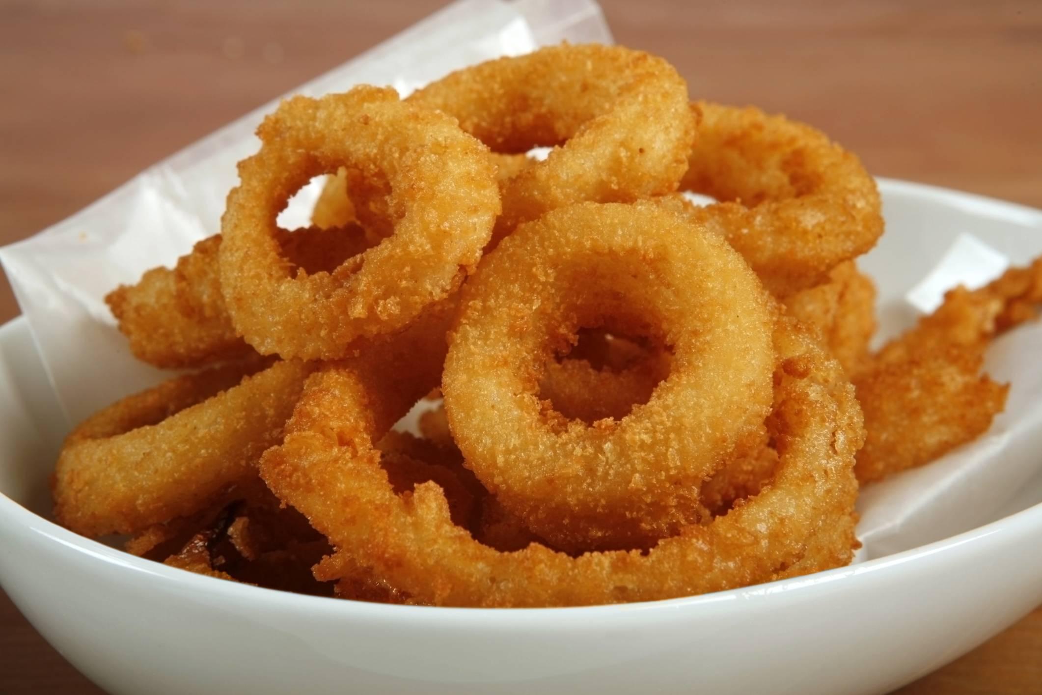 Луковые кольца в кляре — 9 рецептов приготовления