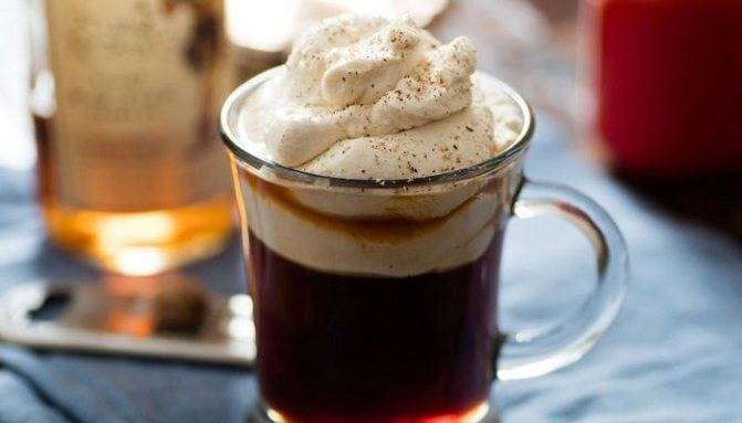 Коктейль ирландский кофе (irish coffee) / typobar.ru
