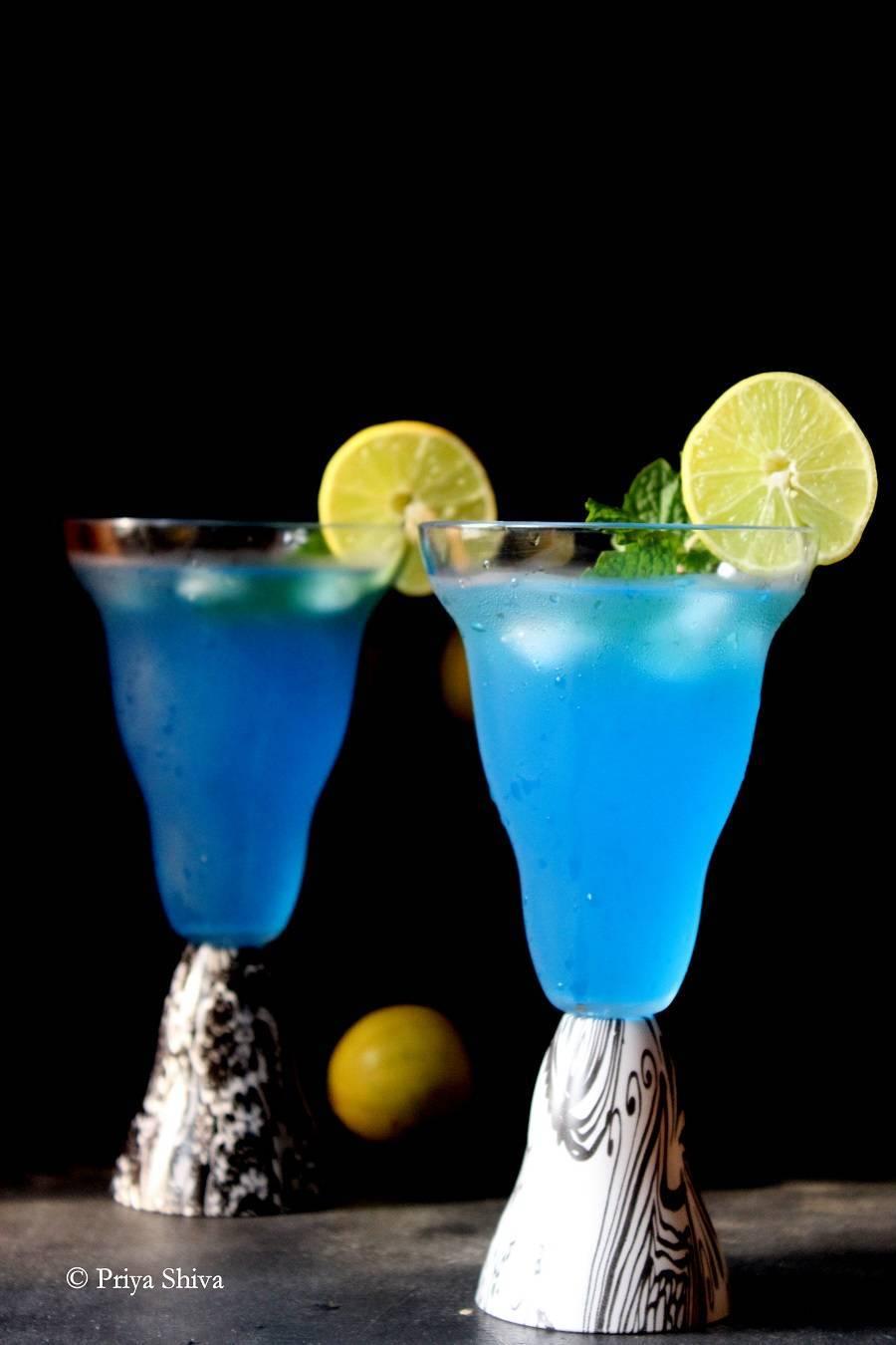 Как приготовить коктейль голубая лагуна по пошаговому рецепту
